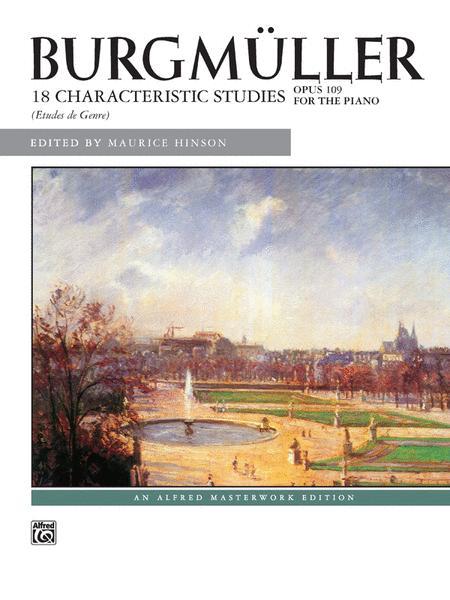 Burgmuller -- 18 Characteristic Studies, Op. 109