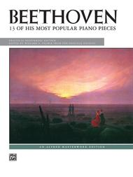 Beethoven -- 13 of His Most Popular Piano Pieces