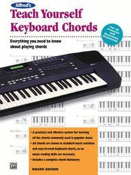 Alfred's Teach Yourself Keyboard Chords - Book