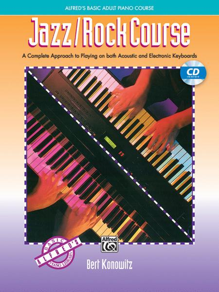 Alfred's Basic Adult Piano Course - Jazz/Rock Course (Book/CD)