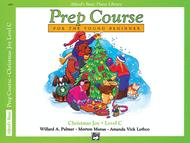 Alfred's Basic Piano Prep Course Christmas Joy!, Book C