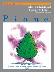 Alfred's Basic Piano Course Merry Christmas! Complete Book 1, Level 1A/1B