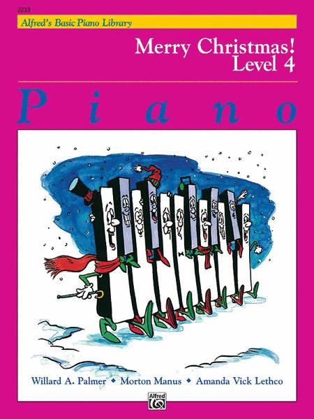 Alfred's Basic Piano Course - Merry Christmas!, Book 4