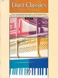 Duet Classics for Piano, Book 3