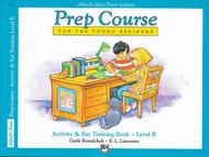 Alfred's Basic Piano Prep Course Activity & Ear Training, Book B