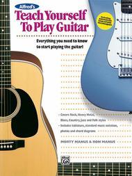 Teach Yourself To Play Guitar - Book/Enhanced CD
