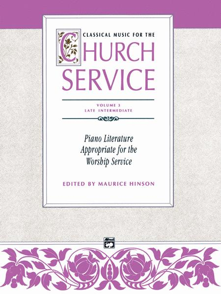 Classical Music for the Church Service, Volume 3