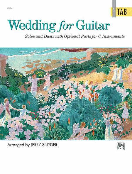 Wedding for Guitar - in Tab