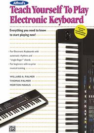 Alfred's Teach Yourself To Play Electronic Keyboard - Book