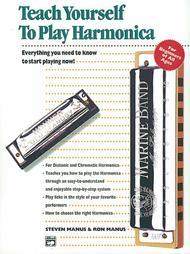 Teach Yourself To Play Harmonica - Book/Harmonica/Enhanced CD