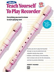 Teach Yourself To Play Recorder - Book/CD