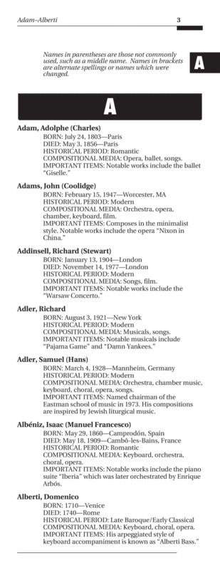 Preview Essential Dictionary Of Composers By L C