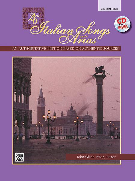 26 Italian Songs and Arias - Medium High Voice (Book/CD)