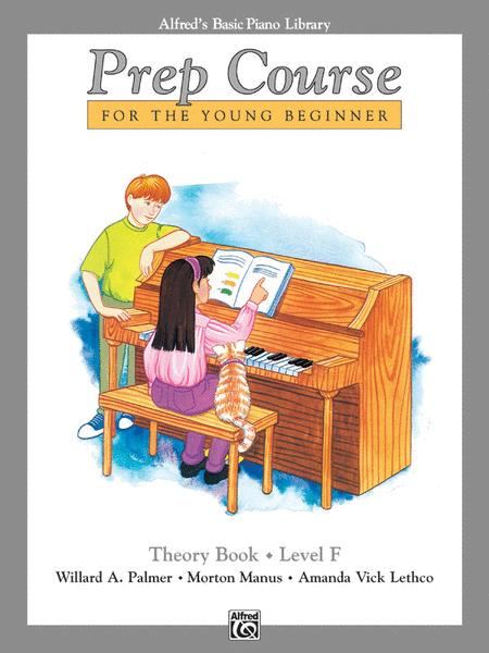 Alfred's Basic Piano Prep Course Theory, Book F