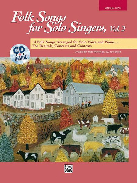 Folk Songs for Solo Singers, Volume 2