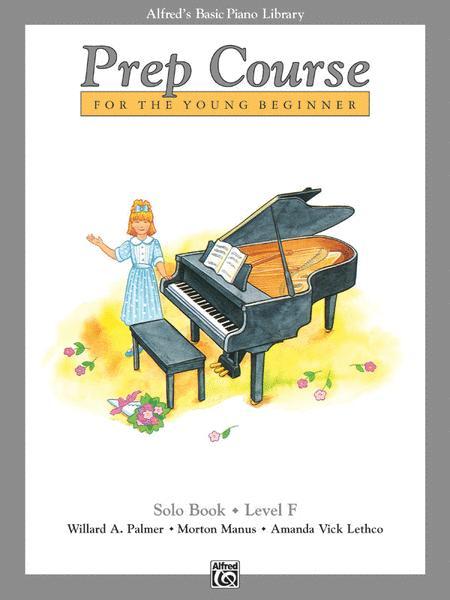 Alfred's Basic Piano Prep Course Solo Book, Book F