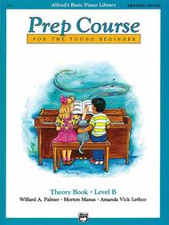 Alfred's Basic Piano Prep Course Theory Book, Book B