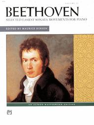 Selected Intermediate to Early Advanced Piano Sonata Movements, Volume 2