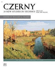 Czerny -- 30 New Studies in Technique, Op. 849