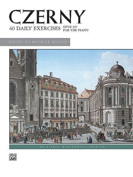 Czerny -- 40 Exercises, Op. 337