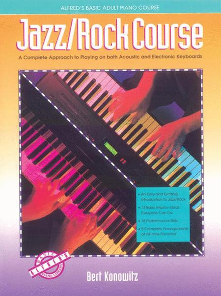 Alfred's Basic Adult Piano Course - Jazz/Rock Course (Book)