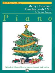 Alfred's Basic Piano Library Merry Christmas! Complete, Book 2 & 3