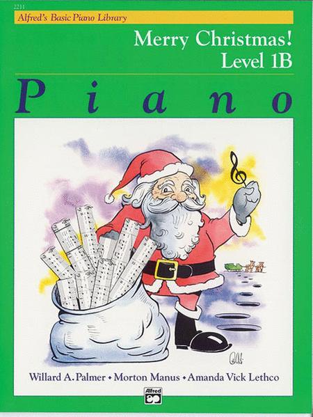 Alfred's Basic Piano Course - Merry Christmas! (Book - Level 1B)