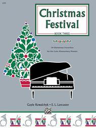 Christmas Festival, Book 3