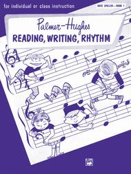 Palmer-Hughes Accordion Course Reading, Writing, Rhythm (Note Speller), Book 1