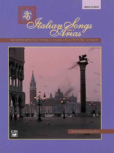 26 Italian Songs and Arias - Medium High Voice (CD)