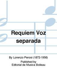 Requiem Voz separada