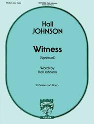 Witness (Negro Spiritual)