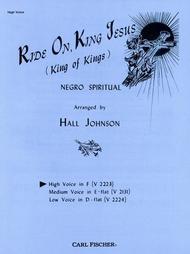Ride On, King Jesus (King of Kings)