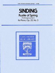 Rustle of Spring (Fruhlingsrauchen), Op. 32, No. 3
