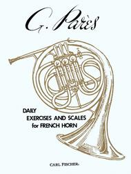 Daily Exercises And Scales For French Horn