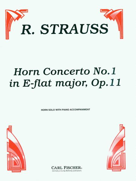 Horn Concerto No. 1 in E-Flat Major, Op. 11