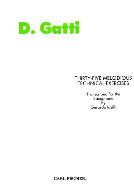 Thirty Five Melodious Technical Exercises