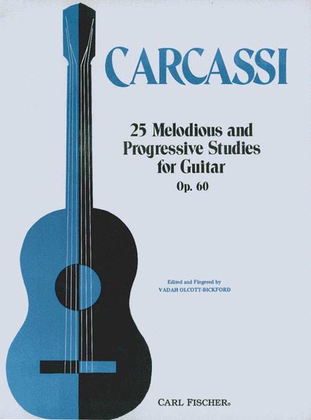 Twenty-Five Melodious And Progressive Studies