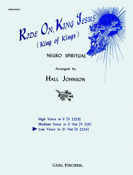 Ride On, King Jesus (King of Kings)