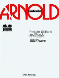 Prelude, Siciliano, And Rhondo