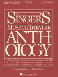The Singer's Musical Theatre Anthology - Volume 3 - Baritone/Bass (Book only)
