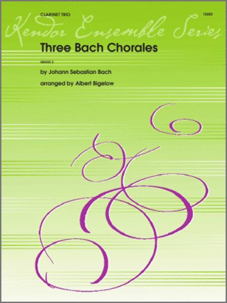Three Bach Chorales (Digital Download Only)