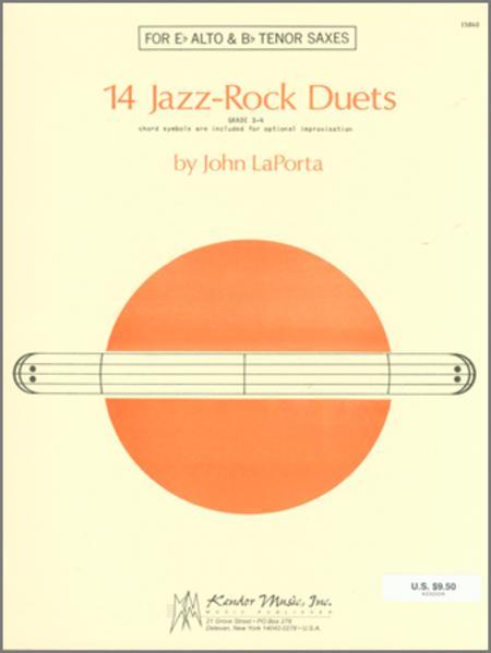 14 Jazz-Rock Duets (alto & tenor sax)