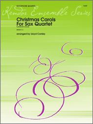 Christmas Carols For Sax Quartet/Conductor's Score