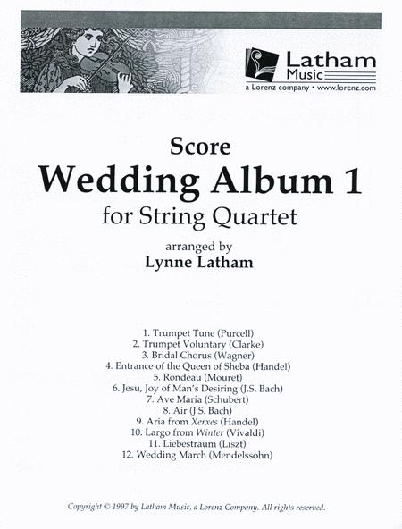 Wedding Album 1 for String Quartet - Score