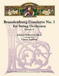 Brandenburg Concerto #1 for String Orchestra
