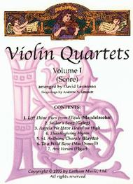Violin Quartets - Volume 1