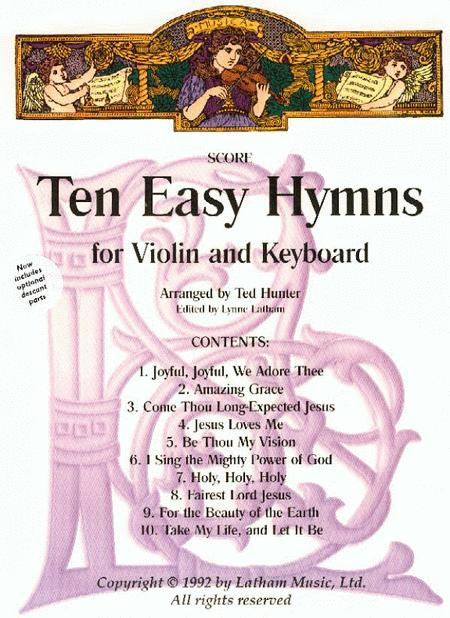 Ten Easy Hymns for Violin and Piano