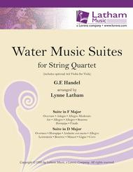 Water Music Suites for String Quartet