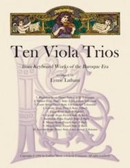 Ten Viola Trios